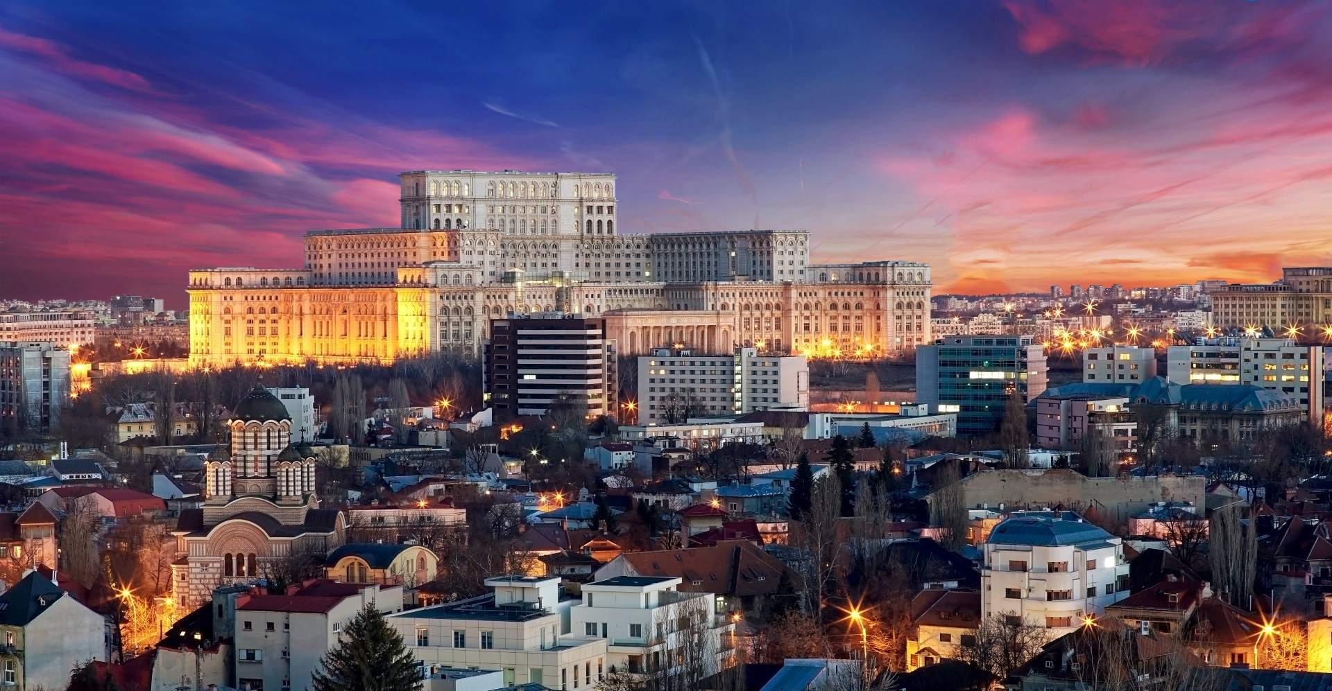 מבט על בוקרשט בירת רומניה