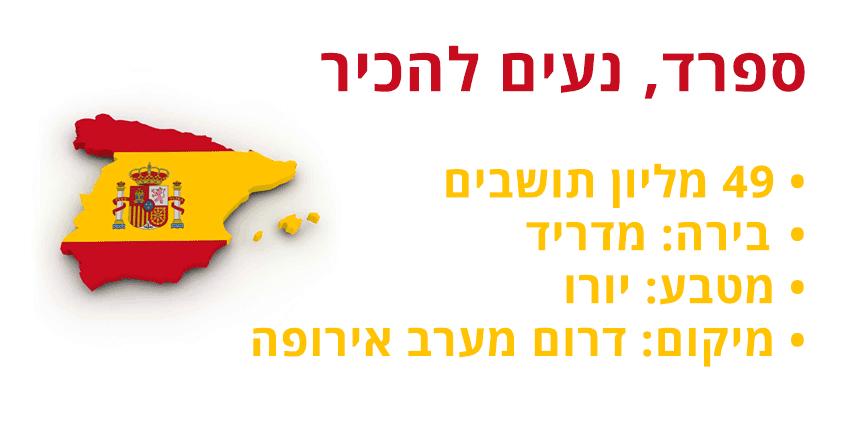 מידע על ספרד